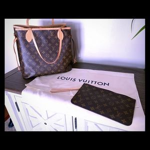 Louis Vuitton Monogram Tote and Removable pouch